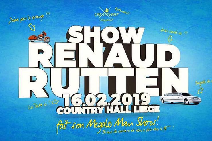Renaud Rutten fait son megalo-man show