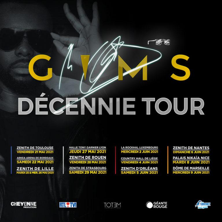 Gim's Decennie Tour - Dates